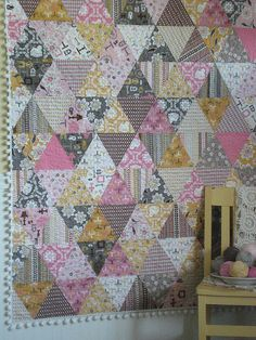 Daisy Chain by Lori Holt, Bee In My Bonnet.  I want this Daisy Cottage fabric ~ it's perfectly wonderful!