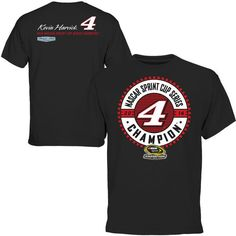 Kevin Harvick 2014 NASCAR Sprint Cup Series Champion Final Turn T-Shirt - Black - $12.99