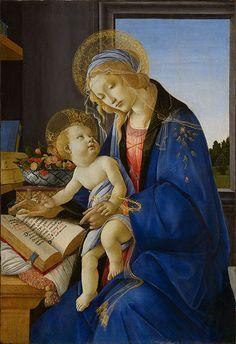 Sandro Botticelli, Madonna del Libro