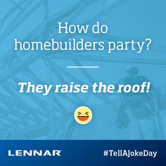 Happy National Tell a Joke Day! Do YOU know of any good home-related jokes? Share them below!