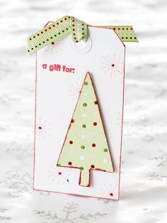 Festive Tree Tag