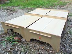 山テーブルはシナベニアで自作!☆軽量ソロテーブル | キャンプにいこう!☆YO