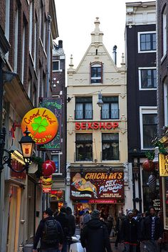 Amsterdam - Red Light District | Nathan A | Flickr