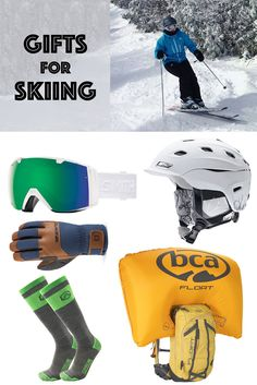 Gift Ideas for Skiers. #ski #skiing #skisocks #giftideas #giftguide