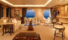 Ahoy! What's it like to live on a cruise ship full-time?The World, Studios to three-bedroom units, plus one six-bedroom penthouse, that range from 337 to 4,184 square feet. Most studios feature private verandas. Units are for sale from 825,000 to 7.7 million. Yearly maintenance fees average 160,000.