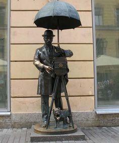 памятник Фотографу. Санкт-Петербург