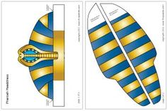 1000 images about projects to try on pinterest pharaoh for King tut mask template