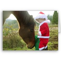 christmas cards with horse photos - Google Search
