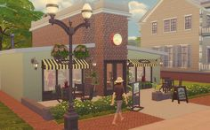 Via Sims: Bakery - The Sims 4 - Comércio