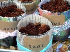 The Dirt: newspaper seedling pots. I love this idea it helps keep the weeds out of your garden and uses recycled materials