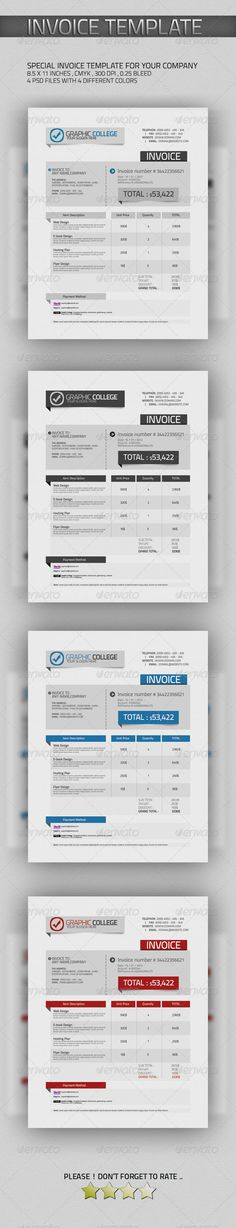 document form - Google 검색 invoice Pinterest Search - invoice print