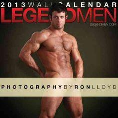 Legend Men 2013 Calendar
