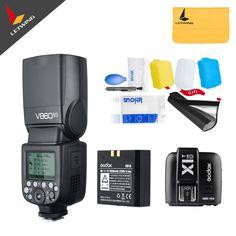 In Stock!!! Godox V860II O V860IIO+ X1TO X1T-O Camera Flash Speedlite Strobe for Olympus Panasonic Lumix TTL HSS 1/3000 1/20000 #Affiliate