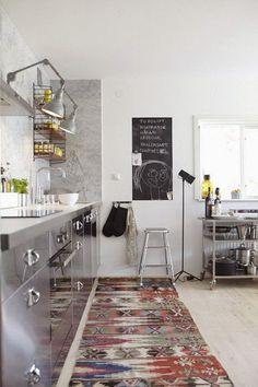 Cocina en tonos grises