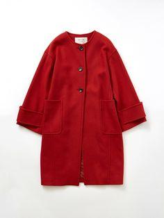 スピック&スパン(Spick & Span)のカラーレスコート Modern Suits, Duster Coat, Women's Fashion, Jackets, Shoes, Clothing, Down Jackets, Fashion Women, Zapatos