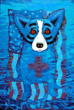 We Will,Rise Again by George Rodrigue (2005)