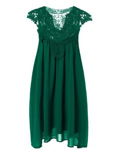 GET $50 NOW | Join RoseGal: Get YOUR $50 NOW!http://www.rosegal.com/plus-size-dresses/plus-size-lace-spliced-hollow-694838.html?seid=5020341rg694838