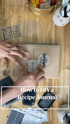 What you need to know to get started. Decorate your title page. Include: types of food, when you started collecting the recipes, who cont.. Healthy Food Choices, Healthy Eating Tips, Get Healthy, Food Journal, Recipe Journal, Tongue Health, Waterproof Stickers, Health Advice, Types Of Food