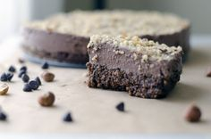 Chocolate Couscous Cake by rosewaterandthyme #Cake #Chocolate #Couscous