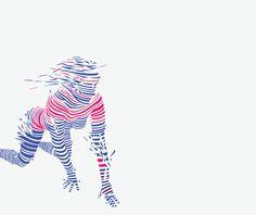 DIGITAL FEMALE FIGURES by Tomasz Zawistowski.