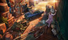 #oldcar #oldtimer #car #vintage #cuba #art #gameart #gaming #gamedev #madheadgames #game #exterior