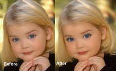 Eden Wood-so cute and pretty before all the makeup and just as cute after.