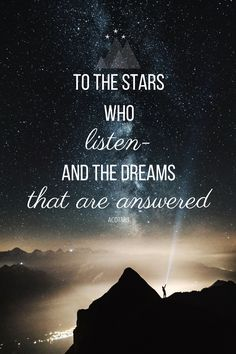 a little feysand quote to remind u that May 2 will feel so long Book Quotes, Life Quotes, A Court Of Mist And Fury, Dreams And Nightmares, Lovers Quotes, Sarah J Maas, Look At The Stars, Dream Quotes, Names With Meaning