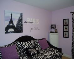 Paris Theme Bedrooms Design, Pictures, Remodel, Decor and Ideas - page 3 want this room!!