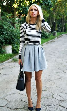 striped top for Autumn