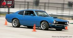 Chris Moore's 1972 Ford Maverick will be in the 2013 #OUSCI