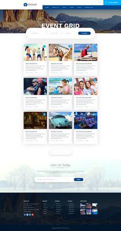Travelair - Travel & Tours Psd Template by oscarthemes   ThemeForest