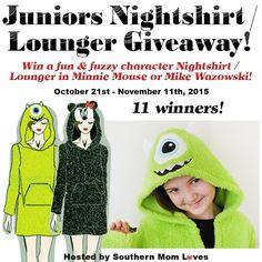 Juniors Nightshirt/Lounger #Giveaway Ends Nov. 11 | Trisha Dishes