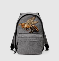 Gucci - beaded sky wool backpack - women's handbags and accessories, brands of designer handbags, purses and handbags for cheap Women's Accessories, Gucci Handbags, Designer Handbags, Designer Purses, Gucci Bags, Handbags Online, How To Make Handbags, Bees Knees, Gucci Shoes