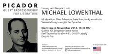 Michael Lowenthal liest in Leipzig!