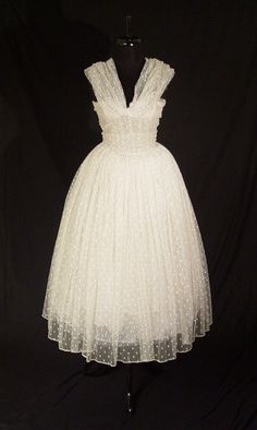 Christian Dior Haute Couture Gown 1957 Vintage Dior Paris Couture Dress