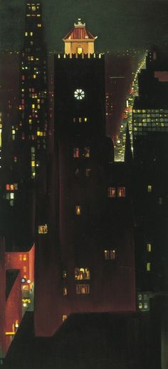 New York Night by Georgia O'Keefe