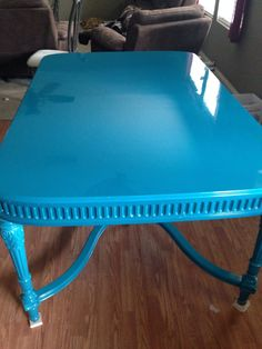 Plummers Office Furniture Vintage Hollywood Regency table by oneoffwoodwerks on Etsy, $1500.00