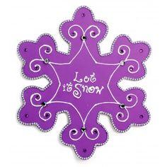 Nicole™ Crafts Let It Snow Snowflake