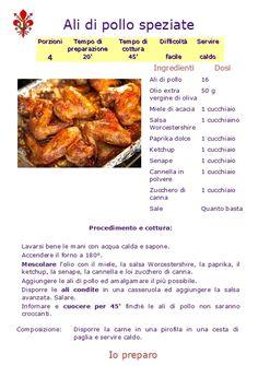 ALI DI POLLO SPEZIATE - www.iopreparo.com