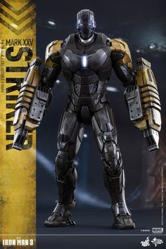 "Mark XXV (""Striker"")  From 'Iron Man 3' (2013)"