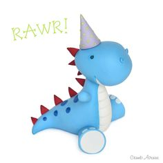 Cute Dinosaur Topper TUTORIAL