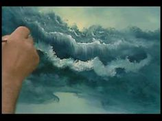 ▶ Bill Alexander paints a wonderful seascape part 2/3 oil painting art - YouTube