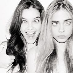 Barbara Palvin and Cara Delevingne | @celebritiies