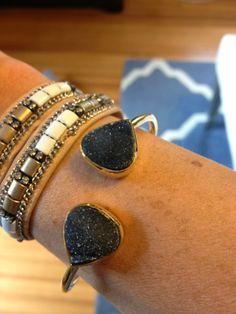 Four Plus Us: Stitch Fix Review #6.  Love this bracelet!