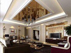 127 Luxury Living Room Designs  Living Rooms Ceiling And Luxury Stunning Luxury Living Room Interior Design Ideas 2018