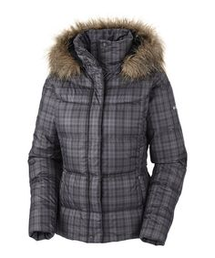 Another great find on #zulily! Black Plaid Mercury Maven II Jacket - Women by Columbia #zulilyfinds