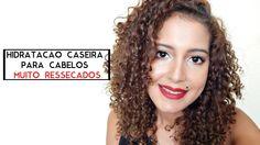 Hidratação caseira para cabelos muito ressecados | Mari Morena