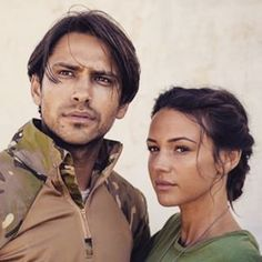Luca in #OurGirl season 2