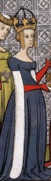 Richilde of Provence (845 - 910). Empress of the Franks from 870 to 877. She was the second wife of Charles the Bald, and had one daughter who survived to adulthood. She attempted to give the throne of France to her brother after her eldest stepson died, but failed.