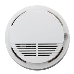Home Security Photoelectric Cordless Smoke Detector Fire Sensor Alarm